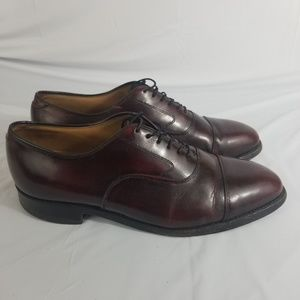 Johnston And Murphy Mens Cap Toe Oxford Size 9D